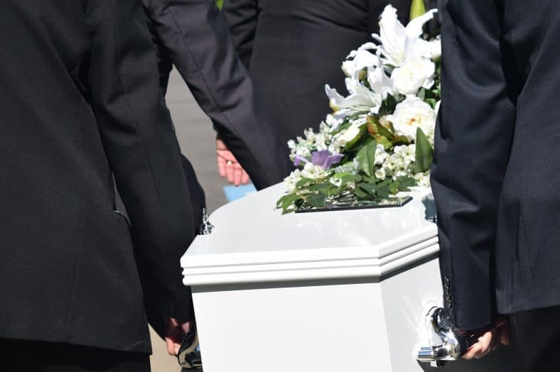 Carrying A Coffin