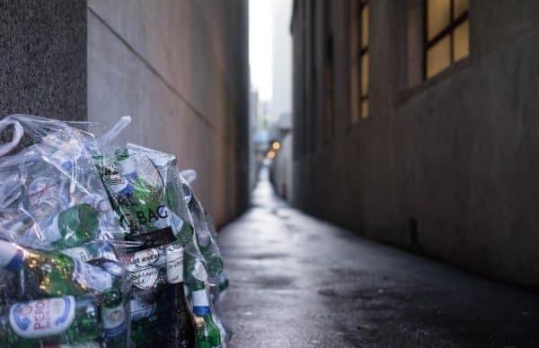 Garbage Left Outside